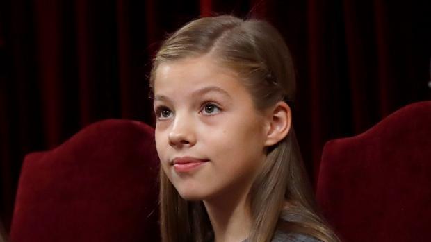 La Infanta Sofía cumplirá doce años entre la simpatía y la discreción