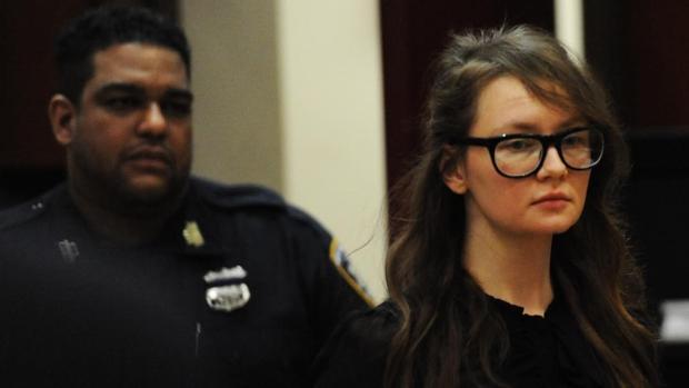 Anna Sorokin, la semana pasada, durante la vista oral en Nueva York