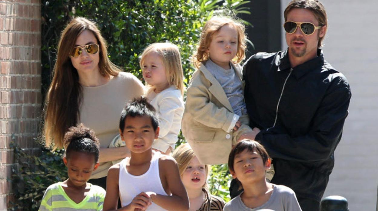 Brad Pitt hijos