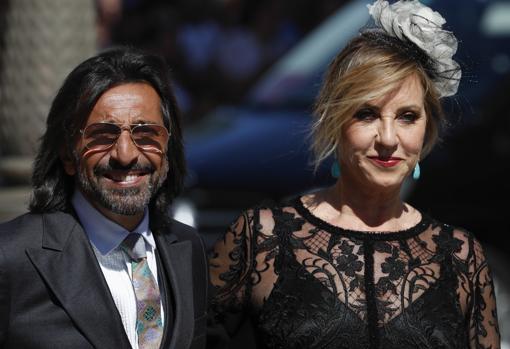 Antonio Carmona y su mujer Mariola Orellana