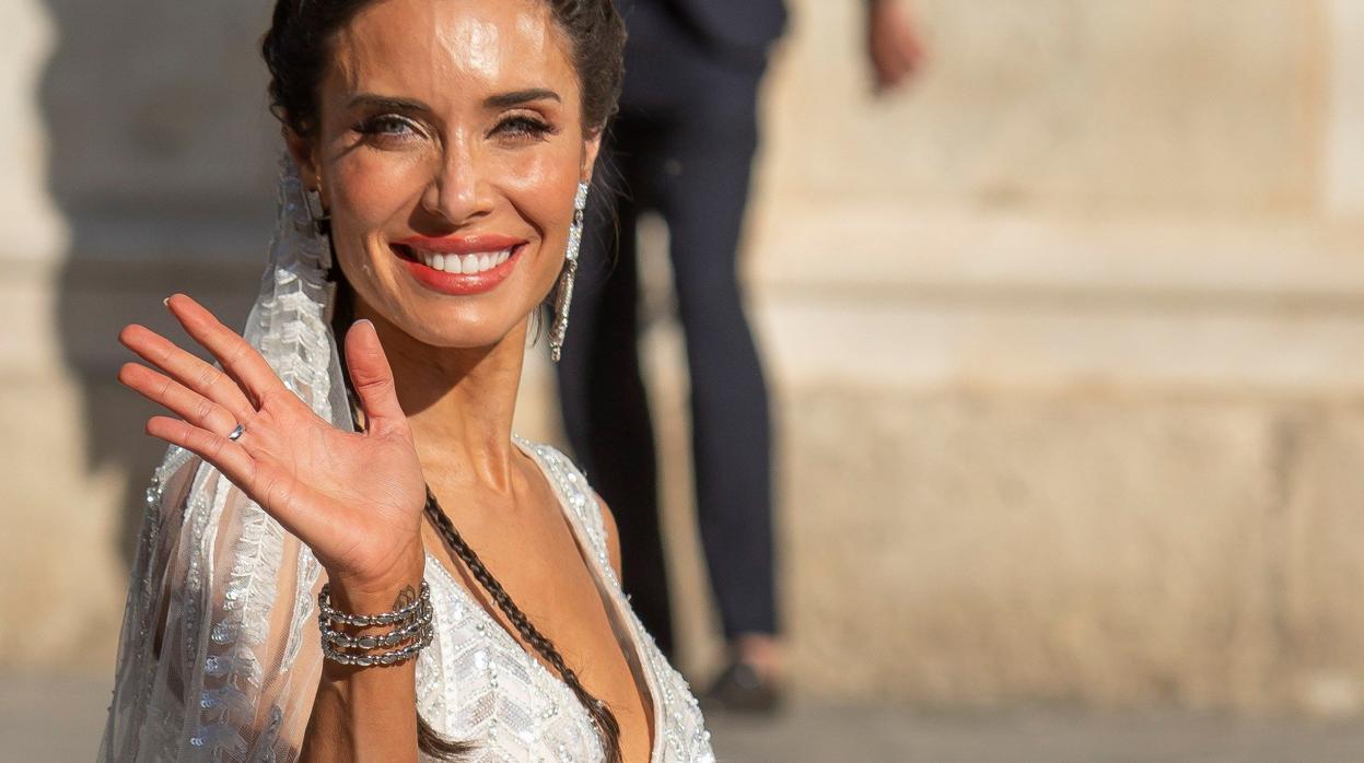 Pilar Rubio de novia: así ha sido de espectacular el vestido de la presentadora