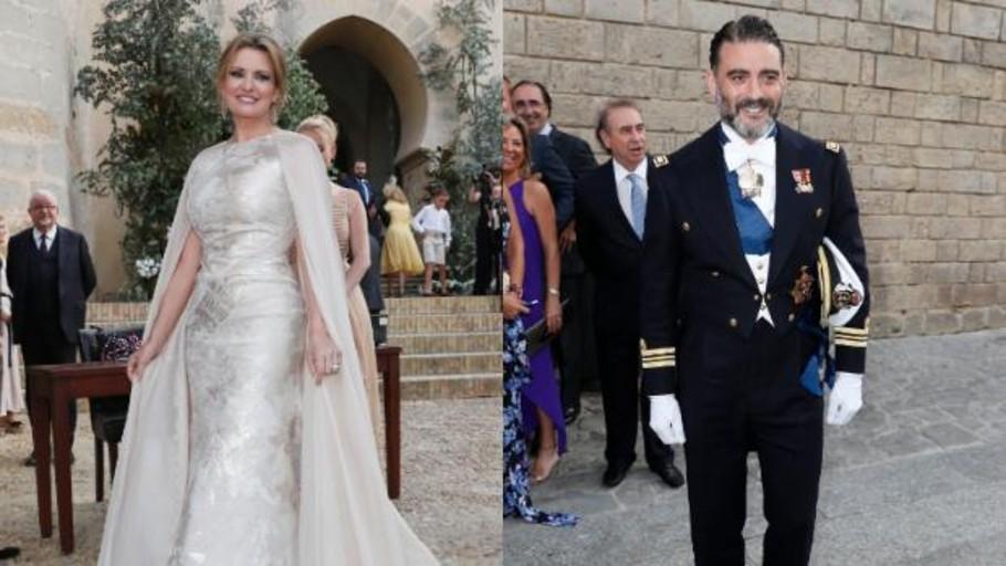 Ainhoa Arteta y Matías Urrea sellan sus tres intensos años de amor en Cádiz