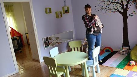Alejandra, «madre de día» en en Nido de Peque (Madrid)