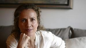 Pilar Benítez, autora de «Mujeres agotadas y cómo dejar de serlo», durante la entervista en la Casa de ABC
