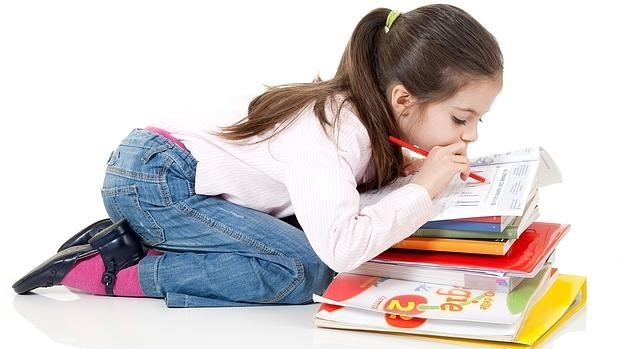 El estrés ante un examen afecta a niños cada vez más pequeños