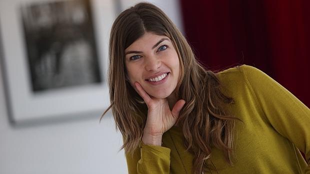 Carla Zaplana, durante la presentación en España de «Superfoods»