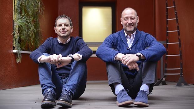 Pedro García Aguado y Francisco Castaño, autores de Aprender a Educar 2