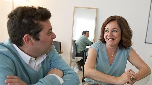 Rocío Ramos-Paúl y Luis Torres, autores de «La pareja en Familia»