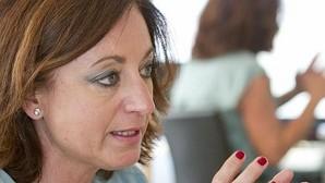 Rocío Ramos-Paúl en un momento de la entrevista