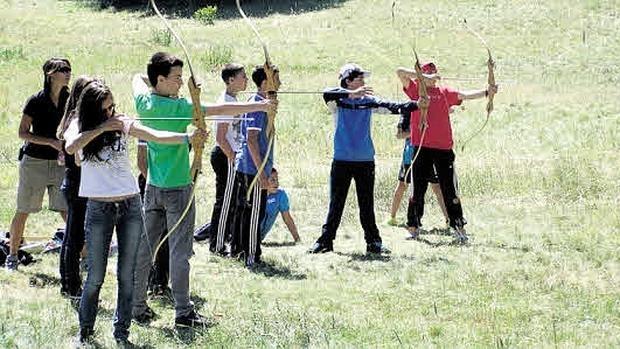 En los campamentos se pueden hacer actividades distintas