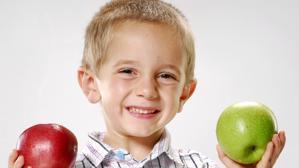 Una alimentación saludable es fundamental para el futuro desarrollo de los más pequeños
