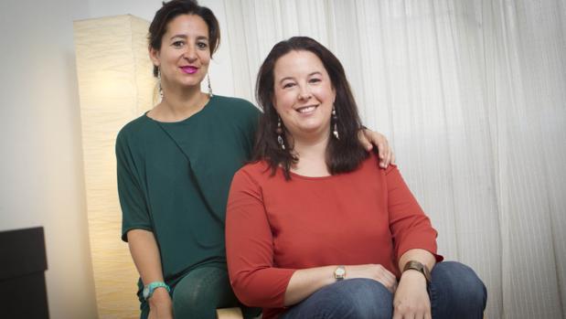 Las psicólogas Natalia Valverde y Sabina del Río