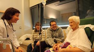 Cuidados paliativos: no curan, ayudan en el dolor