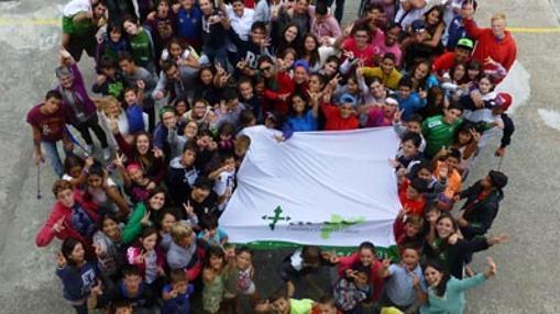 La AECC se lleva a los niños al Valle de Arán