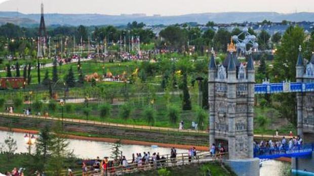 El Parque Europa es un lugar especial para ir con niños