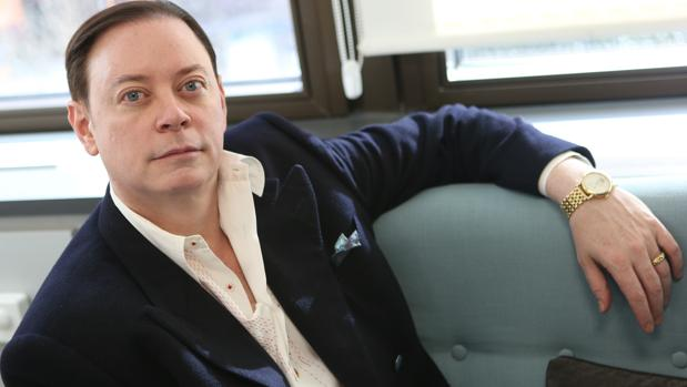 El psiquiatra Andrew Solomon, autor de «Lejos del Árbol», en una estancia en Madrid