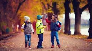 Caminos escolares, una manera de fomentar el ejercicio en los pequeños