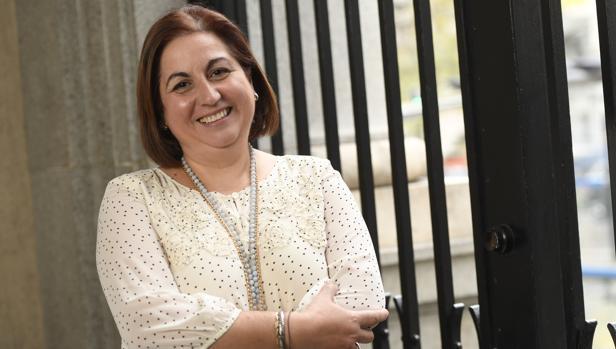 María de los Ángeles González, emprendedora y usuaria de mediación