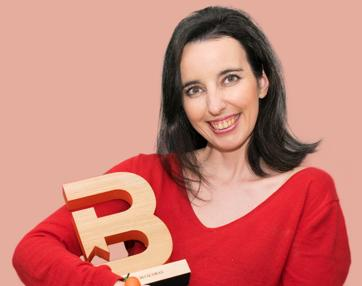 Bei con el Premio Bitácoras