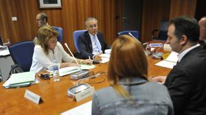 El juez José Luis Utrera, en un juicio de Familia