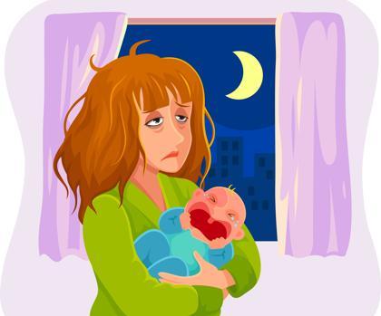 Cólicos del lactante: estresantes para padres pero no peligrosos para los bebés