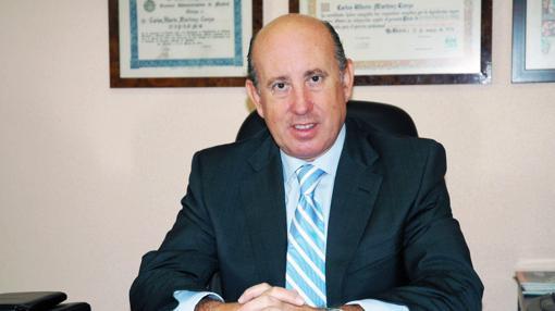 En la imagen, Carlos A. Martínez Cerezo