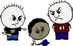 Las víctimas de acoso escolar, menos solas