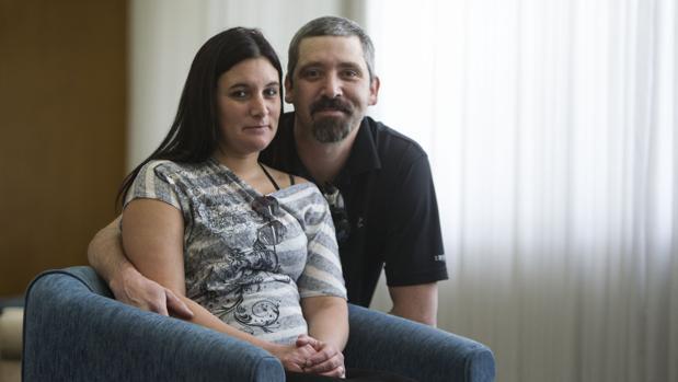 Kelly con su marido, durante su visita a Madrid la semana pasada