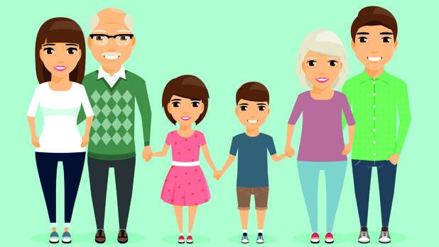 imagenes de la familia  Piden al Gobierno la aprobación de una Ley Nacional de Familia