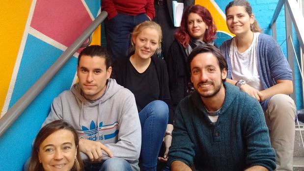 Jóvenes participantes en el programa