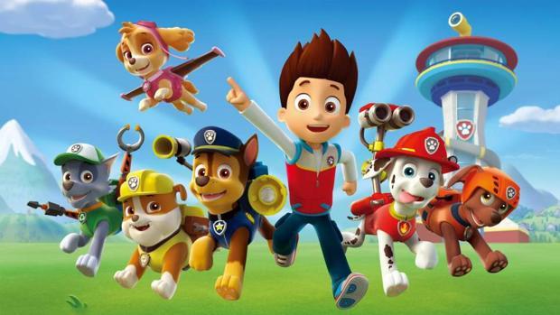 «La patrulla canina» es una serie preescolar de aventuras y acción animada por ordenador