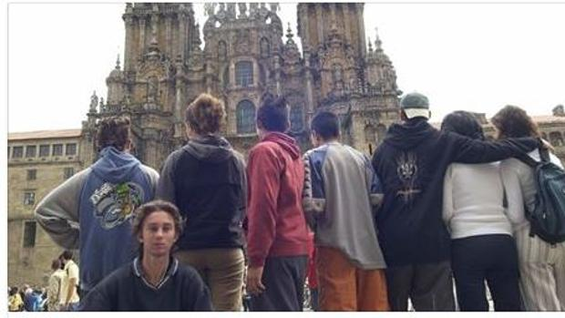 Los 'condenados', a su llegada a Santiago