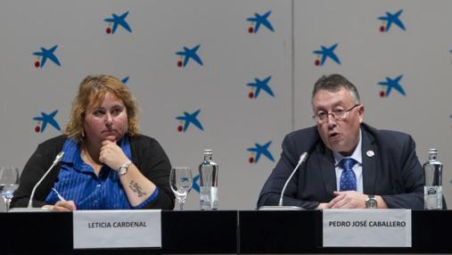 En la imagen, Leticia Cardenal, presidenta de Ceapa, y Pedro José Caballero, presidente de Concapa