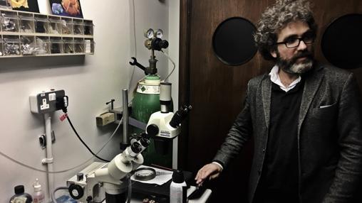 Rodrigo Pineda, uno de los creadores de «Aventuras en Bodytown»