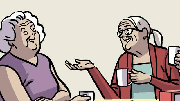 Una de las ilustraciones del cómic de Paco Roca
