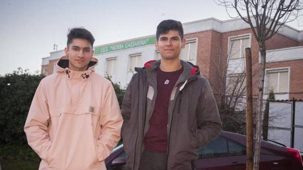 Aitor y Sergio, los «héroes» de esta historia