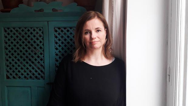 La autora Iria Marañón