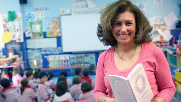 María José Ayuso, profesora de Joyfe y coautora de «Guía de iniciación para docentes. Las Inteligencias Múltiples en el aula»