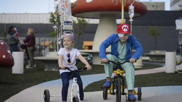 Los dos tamaños de triciclos que existen