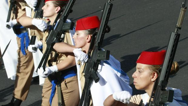 desfile de las Fuerzas Armadas en octubre de 2010 en Madrid