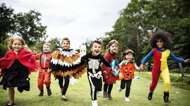 Actividades Con Niños En los disfraces de Halloween infantiles más buscados  no faltan los esqueletos 0a8b52e2fc1d