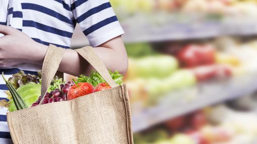 Resultado de imagen para bolsas de tela para hacer compras di no al plastico