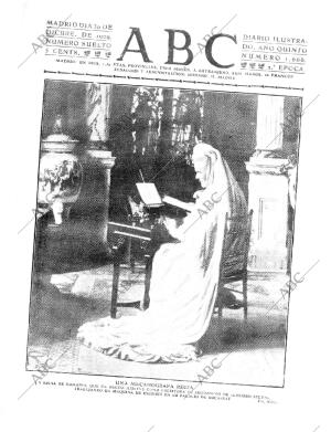 ABC MADRID 30-12-1909 página 1