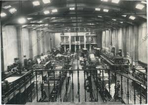 Las nuevas rotativas en la nave de máquinas de ABC en su sede de Serrano