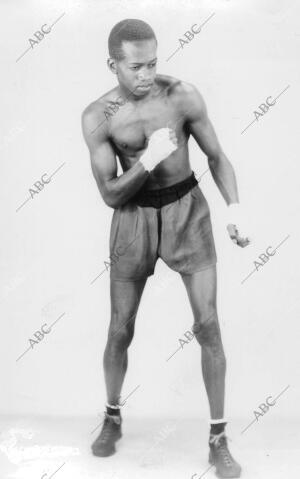 El boxeador Alf Brown