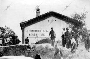 Una avanzadilla Republicana A las Puertas de Guadalupe (Cáceres)