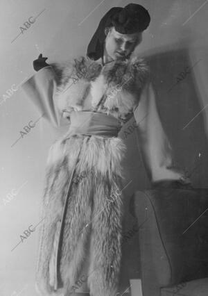 En la Imagen, abrigo de 1942