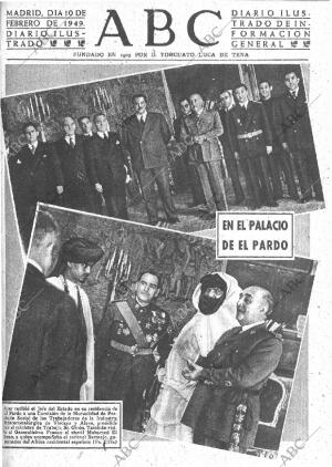 ABC MADRID 10-02-1949 página 1