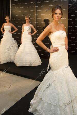 La ex miss España y modelo Helen Lindes se viste de novia para promocionar luna...