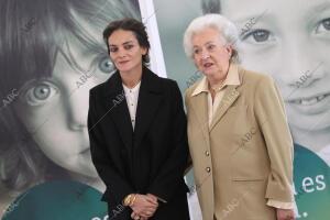 Rueda de prensa de la presentacion de nuevo futuro Laura Ponte la Infanta Doña...